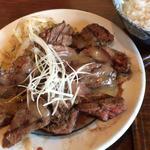 牛ハラミ焼きランチ(塩ダレ)