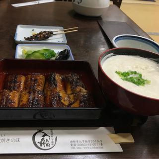 うなぎ定食(入船 (いりふね))