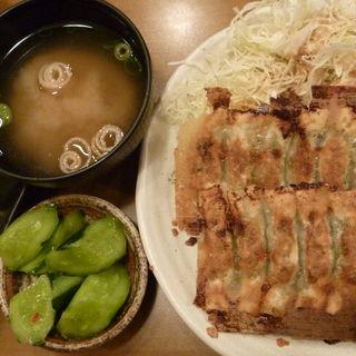 一口餃子定食(チャオチャオ餃子定食)(浪花ひとくち餃子 餃々 大森店 (チャオチャオ))