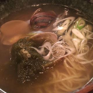 貝汁そば(ボンゴレ亭 )