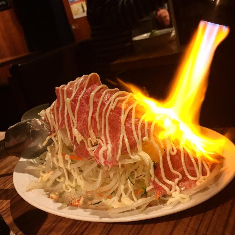 シンシンのバーナー焼(サラダ)