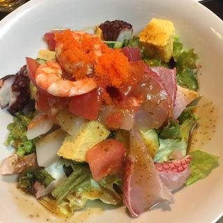 海鮮サラダ(かずさん亭 )