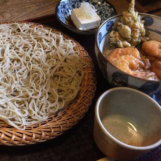 ミニ天丼セット(山泉 (やまいずみ))
