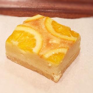 オレンジのタルト(ホノルルコーヒー KITTE博多店)