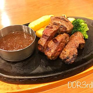 熟成角切りステーキ(ビッグボーイ山口中央店)