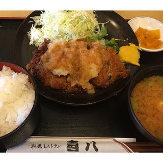 おろし豚カツ(和風レストラン 喜八 )