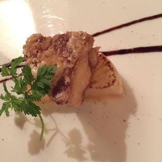 フォアグラの鉄板焼 季節の食材と共に