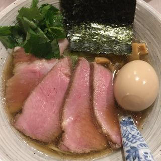 醤油そば+豚肩ロース(メンドコロ キナリ)