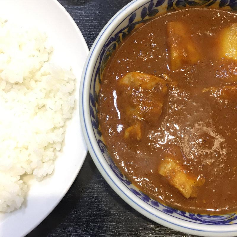チキンカラヒ(日替わり)
