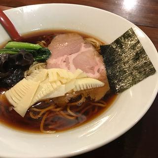 濃口醤油ラーメン(一酵や )