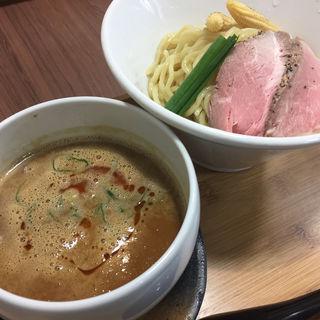海老味噌つけ麺(らーめん 四恩)