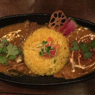 マンゴーチキンカレー&スリランカ鯖カレー(Trippin Spice)