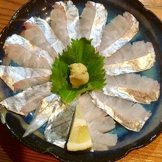 太刀魚の刺身(塩梅)