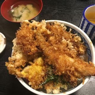 穴子天丼(天ぷら小料理 久 )