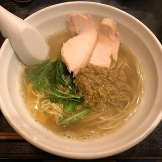 貝出汁塩そば(丿貫)