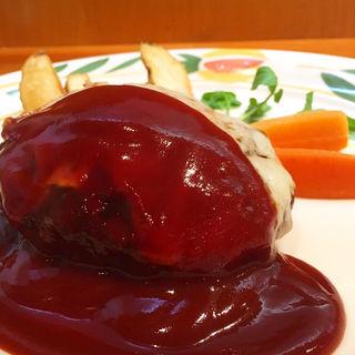 チーズハンバーグ(とくら 新堀川店 )