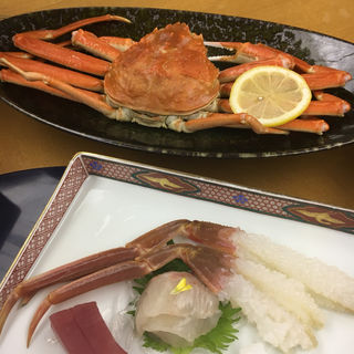 かに2杯フルコース(宮津ロイヤルホテル )