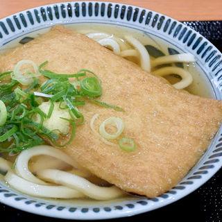 きつねうどん(丸亀製麺 イオンモール高松店)