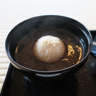栗ぜんざい(五十鈴茶屋)