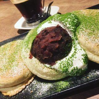 抹茶パンケーキ(Riz Labo Kitchen)