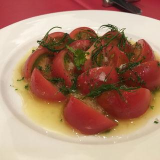 フルーツトマトのサラダ(七條 (シチジョウ))