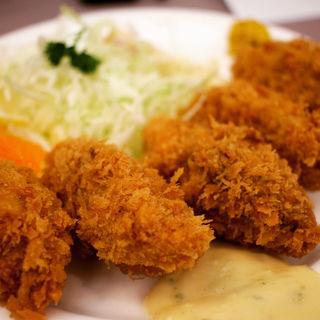 カキフライ(食事処 酒肴 水口)