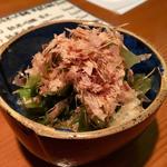 チンゲン菜と南関揚げの煮浸し