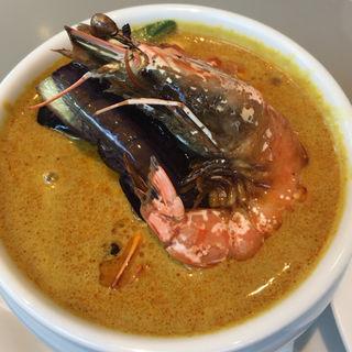 海老カレー(威南記海南鶏飯 日本本店 (Wee Nam Kee Chicken Rice/ウィーナムキーチキンライス))