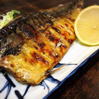 鯖の一枚焼き(真)