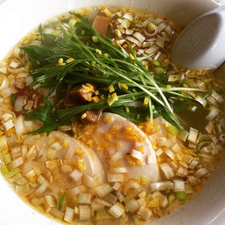 期間限定  柚塩鶏麺(奥久慈ラーメン なかざわ )