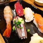 寿司5種盛り