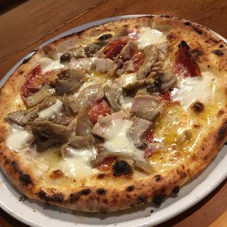 Pizza ディアボラ ビアンカ(イル コーヴォ (IL COVO ))