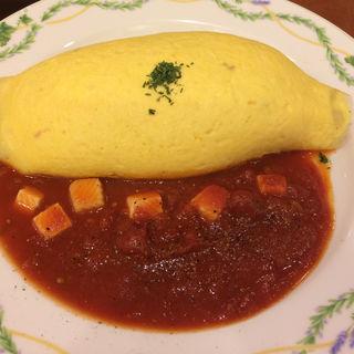 モッツァレラリーズのトマトソース(卵と私 新宿ミロード店 (タマゴトワタシ))