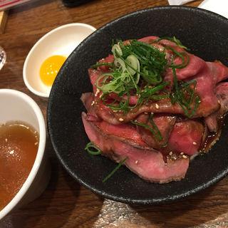 ローストビーフ丼(イートミートアットフランダーステイル)