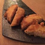 生レンコンと海老の天ぷら