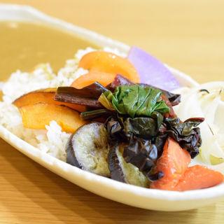 グリル野菜のカレーライス(創作料理 凪)
