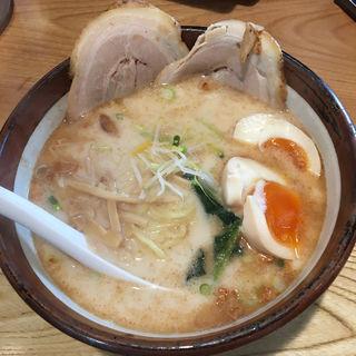 熟成塩ラーメン(俺流塩らーめん 神宮前 )