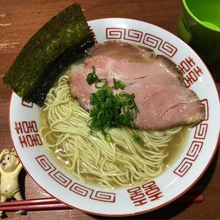 鶏と煮干しの塩そば(麺や而今 (じこん))