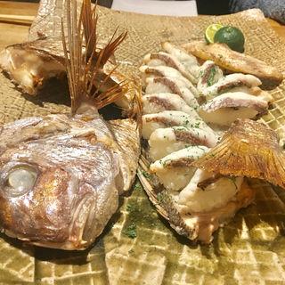 赤鯛の焼き寿司(歩路庵 中目黒 (ポジアン))