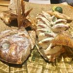 赤鯛の焼き寿司