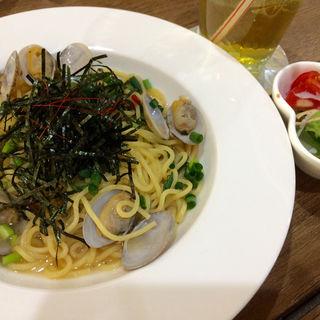 和風ボンゴレパスタ(cafe koume)