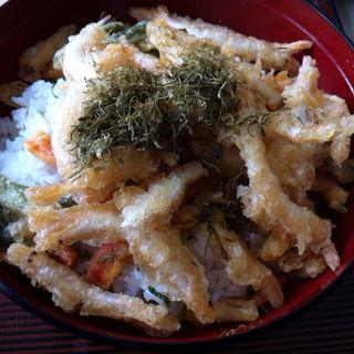 白海老の唐揚丼(ホテル立山 )