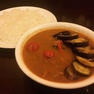 ナストマトチキン(curry草枕)