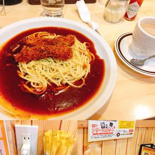 あんかけスパゲッティ(金シャチ珈琲店 )