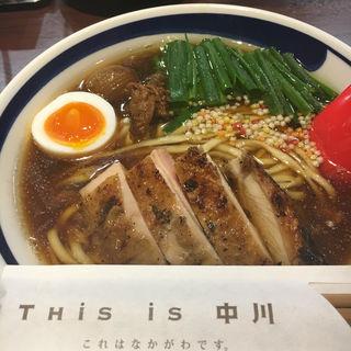煮干醤油チンタン(This is 中川 (これはなかがわです。))