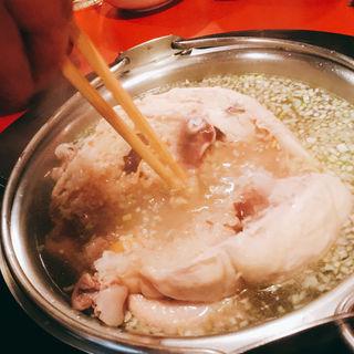 参鶏湯(鬼亭 (おにてい))