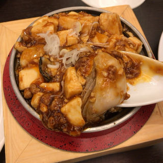 牡蠣入りマーボ豆腐(中国料理 シルクロード名駅店)