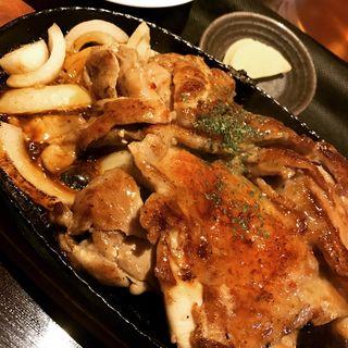 日替わり定食(チキンステーキ)(中崎きりがね食堂 )