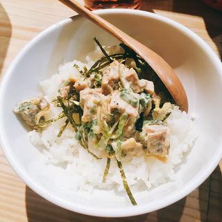 ミニチャーシュー丼(煮干し中華そば 麺屋 銀星 高円寺 )