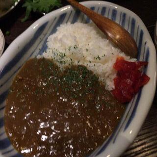 カレー(日本酒ばー このや )